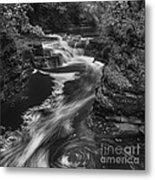 Fall Creek Flow II Metal Print