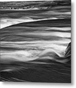 Fall Creek Flow Metal Print