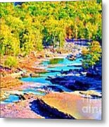 Fall Drought @ Ashokan Metal Print