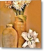 Fall Floral Bouquets Metal Print