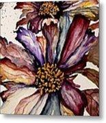 Fall Flower Colors  Metal Print