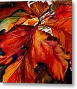Autumn Dressage Metal Print