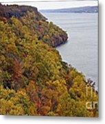 Fall Foliage On The New Jersey Palisades II Metal Print