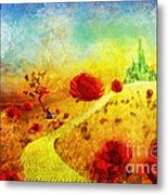 Fall In Oz Metal Print