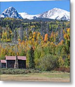 Fall In Summit County Metal Print