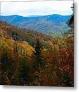 Fall In The Blue Ridge Mountains Metal Print