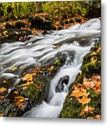 Fall In The Poconos Metal Print