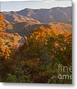 Fall In The Smoky Mountains Metal Print