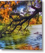 Fall Landscape 4 Metal Print