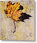 Fall Leaf Metal Print