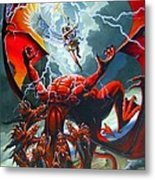 Fall Of The Hydra Metal Print