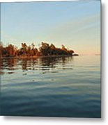 Fall On Lake Ontario Metal Print