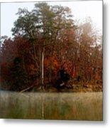 Fall On Melton Hill Lake Metal Print