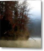 Fall On Melton Hill Lake II Metal Print