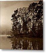 Fall On Melton Hill Lake V Metal Print