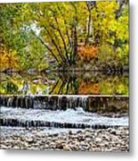 Fall On The Poudre Metal Print by Baywest Imaging