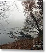 Fall On The River Metal Print