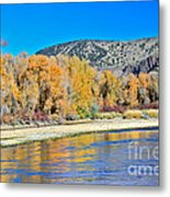 Fall On The Snake River Metal Print
