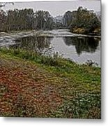 Fall On The Snoqualmie II Metal Print