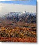 Fall Over Mountain Metal Print