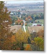 Fall Overlook Metal Print