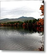 Fall Reflection II Metal Print