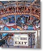 Fall River Ride Exit Metal Print
