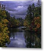 Fall River Scene Metal Print