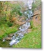 Fall Springs Metal Print