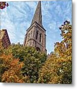 Fall Steeple Metal Print