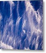 Fall Streak Clouds  Metal Print