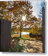 Fall Through The Gate Metal Print