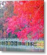 Fall Time  Metal Print