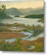 Fall View From Boscobel Metal Print