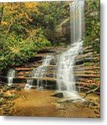 Fall Water Metal Print