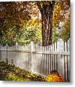 Fall Welcome Metal Print