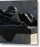 Fallen Artilleryman Metal Print