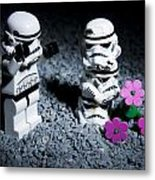 Fallen Friends Metal Print