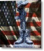 Fallen Soldiers Memorial Metal Print
