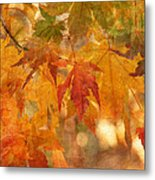 Falling Colors II Metal Print