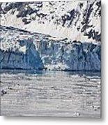 Falling Glacier Metal Print