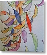 Falling Into Place Metal Print by Sherry Harradence