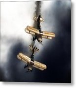Falling Pitts Metal Print