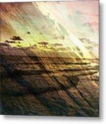 Falling Sky Siesta Key Metal Print