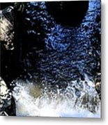 Falling Waters Metal Print