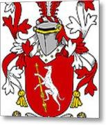 Fallon Coat Of Arms Irish Metal Print