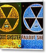 Fallout Lineup Metal Print