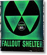Fallout Shelter Wall 1 Metal Print