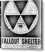 Fallout Shelter Wall 10 Metal Print