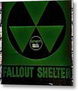 Fallout Shelter Wall 4 Metal Print